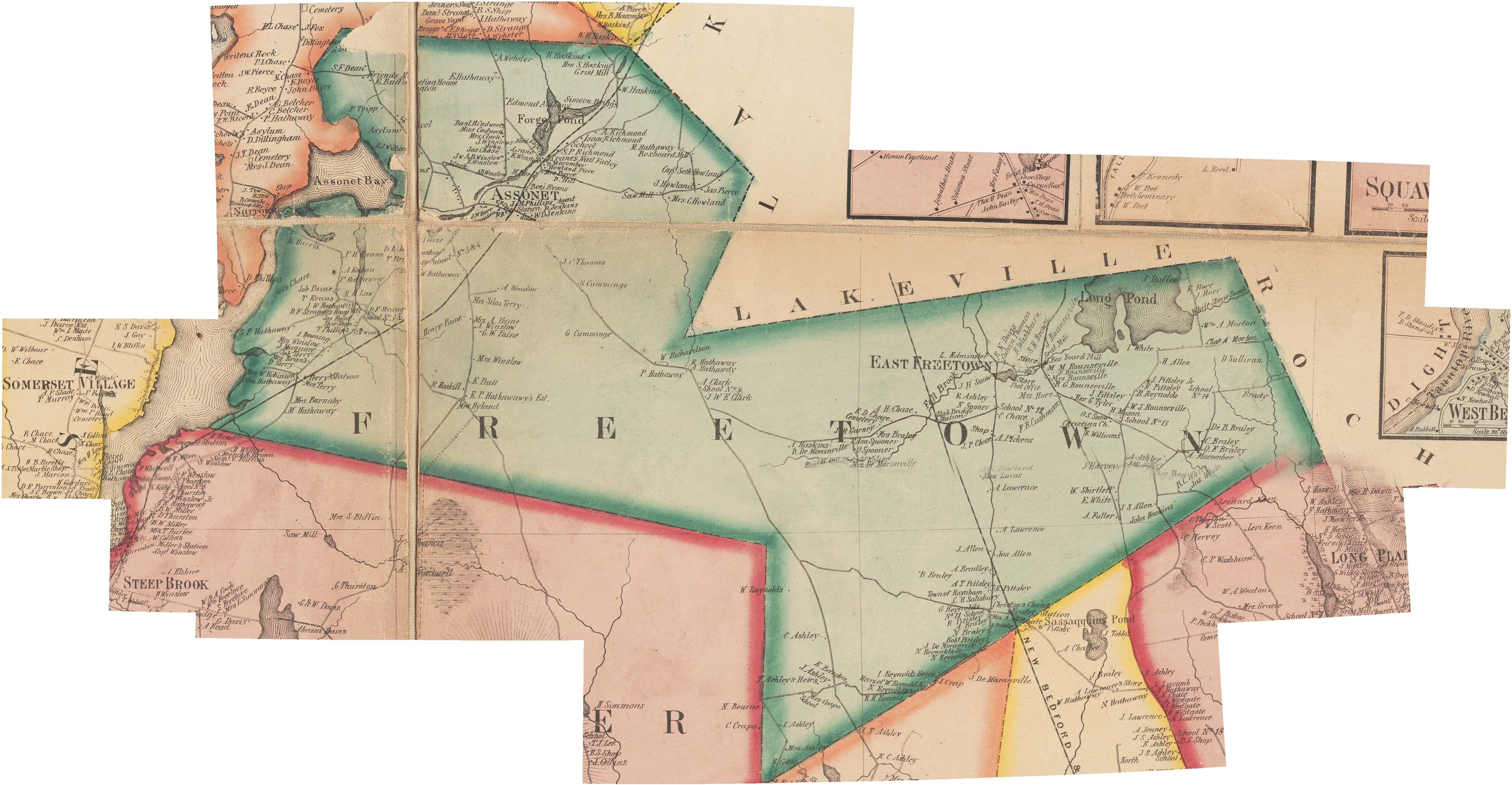 Old Maps Dartmouth Historical and arts society